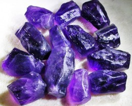 100.31 CTS AMETHYST ROUGH PARCEL FROM NAMBIA-CLEAN!  [F4399]