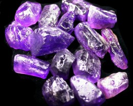 100.79 CTS AMETHYST ROUGH PARCEL FROM NAMBIA-CLEAN!  [F4406]