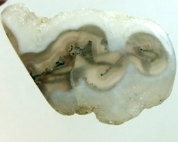 MOSS AGATE DRILLED PENDANT  16.5  CTS NP-103