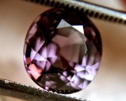 CERTIFIED - 2.96 Carat VVS1 Violet Spinel