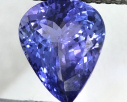 TANZANITE FACETED  3.80  CTS 11X9X5  PG-295