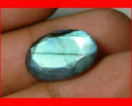 11cts AAA+ Labradorite Faceted Stone Z1081