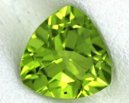 PERIDOT FACETED STONE   1.40 CTS    SG -1675