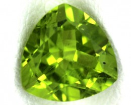 PERIDOT FACETED STONE  1.50  CTS    SG -1676
