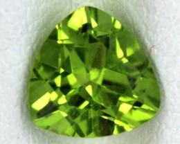 PERIDOT FACETED STONE  1.35  CTS    SG -1677
