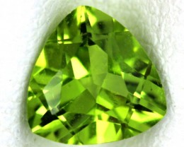 PERIDOT FACETED STONE  1.10  CTS    SG -1680