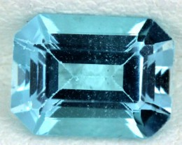 BLUE TOPAZ NATURAL FACETED  1.80 CTS SG-1681