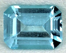 BLUE TOPAZ NATURAL FACETED  1.60 CTS SG-1682