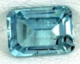 BLUE TOPAZ NATURAL FACETED  1.30 CTS SG-1687