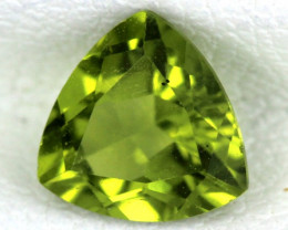 PERIDOT FACETED STONE  1.20  CTS    SG -1691