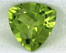 PERIDOT FACETED STONE  1.10  CTS    SG -1693