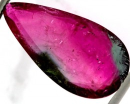 12.70 CTS WATERMELON TOURMALINE FACETED    PG-302