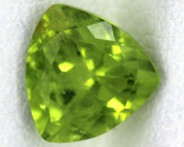 PERIDOT FACETED STONE  1.50  CTS    SG -1698