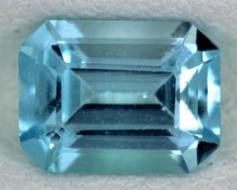 BLUE TOPAZ NATURAL FACETED  2.05 CTS SG-1704