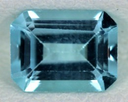 BLUE TOPAZ NATURAL FACETED  1.65 CTS SG-1706