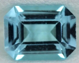BLUE TOPAZ NATURAL FACETED  1.95 CTS SG-1709