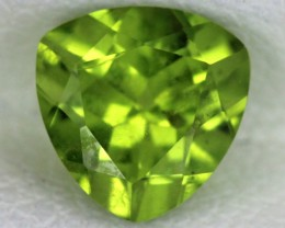 PERIDOT FACETED STONE  1.30  CTS    SG -1713