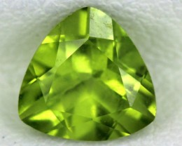 PERIDOT FACETED STONE  1.25  CTS    SG -1717