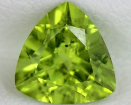 PERIDOT FACETED STONE  1.20  CTS    SG -1731