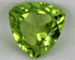 PERIDOT FACETED STONE  1.20  CTS    SG -1733