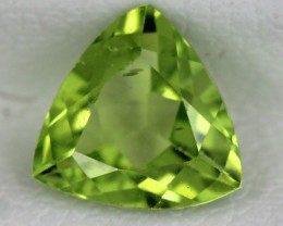PERIDOT FACETED STONE   1.10 CTS    SG -1734
