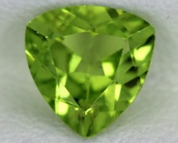 PERIDOT FACETED STONE  1.10  CTS    SG -1736
