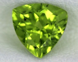 PERIDOT FACETED STONE   1.05 CTS    SG -1737