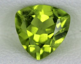 PERIDOT FACETED STONE  1.15  CTS    SG -1738
