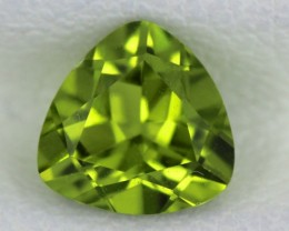 PERIDOT FACETED STONE  1.35  CTS    SG -1740