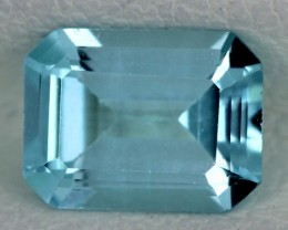 BLUE TOPAZ NATURAL FACETED  1.70 CTS SG-1745