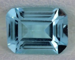 BLUE TOPAZ NATURAL FACETED  1.80 CTS SG-1746