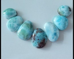 112.7 Ct Hot Sale Nugget Larimar Cabochons
