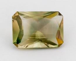 5.9ct Oregon Sunstone, Champagne/Green Rectangle (S317)