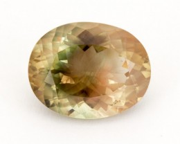 SALE WAS $755 ~ 10.4ct Oregon Sunstone, Champagne/Watermelon Oval (S1034)