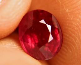 2.95 Carat VS Fiery Cherry Ruby - Gorgeous