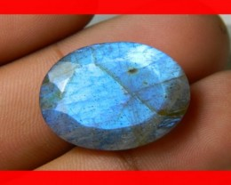 AAA Quality Labradorite Faceted Stone L13