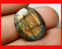 AAA Quality Labradorite Faceted Stone L14