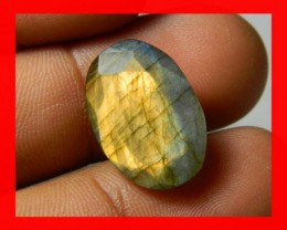 AAA Quality Labradorite Faceted Stone L26
