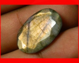 AAA Quality Labradorite Faceted Stone L36