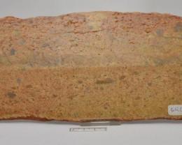 JACK HILLS ZIRCON SLICE Polished from Australia.440 g ( GR69