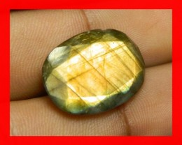 AAA Quality Labradorite Faceted Stone L44
