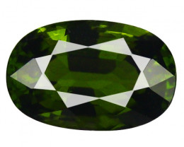 1.10 Cts SPARKLING ULTRA RARE LUSTROUS GREEN TOURMALINE