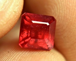 3.34 Carat Fiery SI Ruby - Beautiful