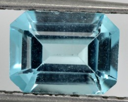 BLUE TOPAZ NATURAL FACETED  1.6 CTS SG-1754