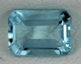 BLUE TOPAZ NATURAL FACETED  1.4 CTS SG-1755