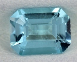 BLUE TOPAZ NATURAL FACETED  1.8 CTS SG-1758