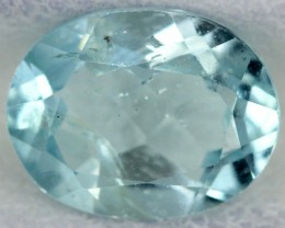 BLUE TOPAZ NATURAL FACETED  2.1 CTS SG-1799