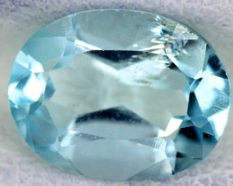 BLUE TOPAZ NATURAL FACETED  2.1 CTS SG-1798