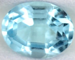 BLUE TOPAZ NATURAL FACETED  2.6 CTS SG-1795