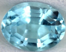 BLUE TOPAZ NATURAL FACETED  2.6 CTS SG-1792